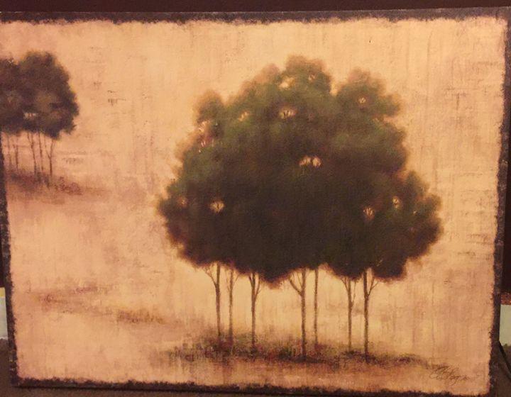 """Trees"" - Art By Micah"