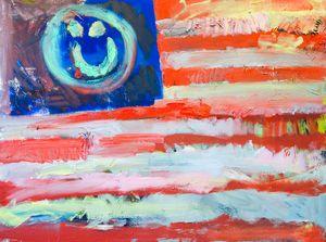 """Democracy (thanks Jasper)"" - Jed Williams Art"