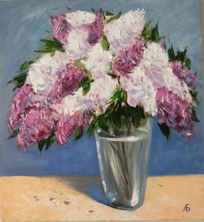 Spring romantic flowers. Lilacs - Anna Borodina