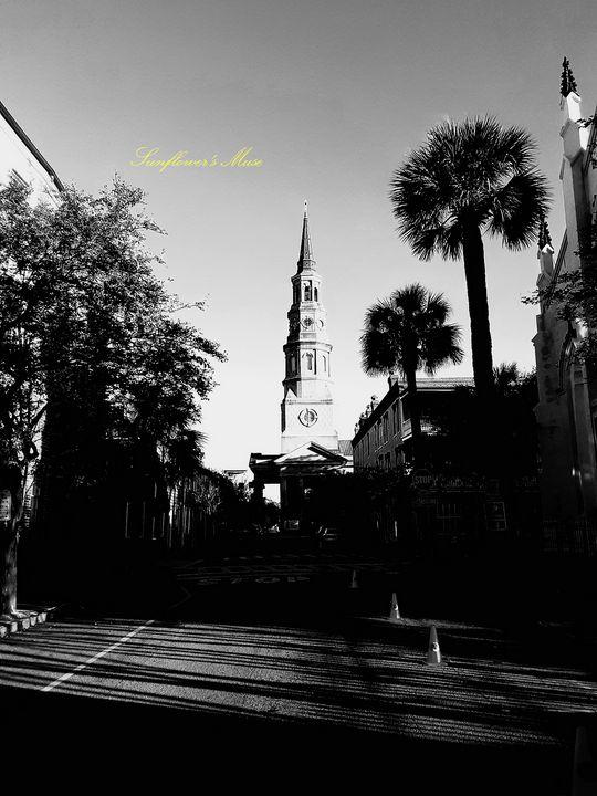 Church Street (Monochrome) - Sunflower's Muse