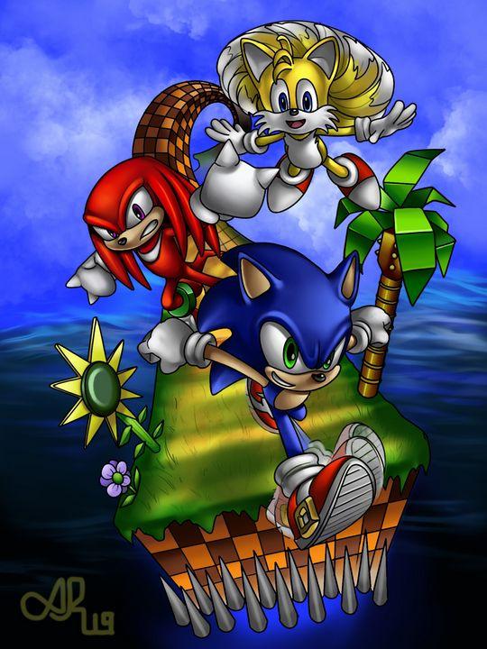 Sonic Dash - Alex Reid Art
