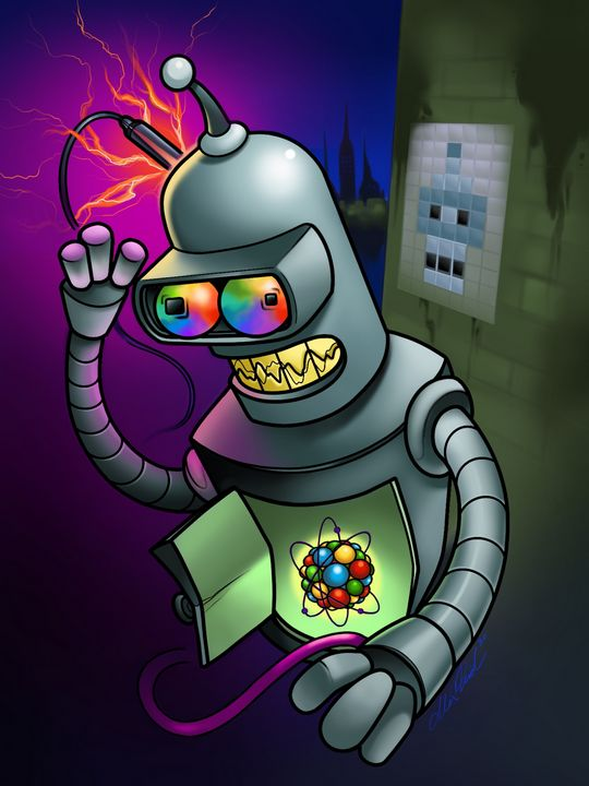 Bender Jack - Alex Reid Art