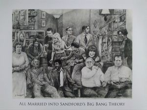 All married into Sanford's Big Bang