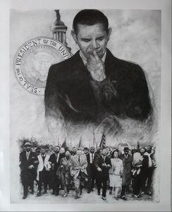 Obama reflecting on the past