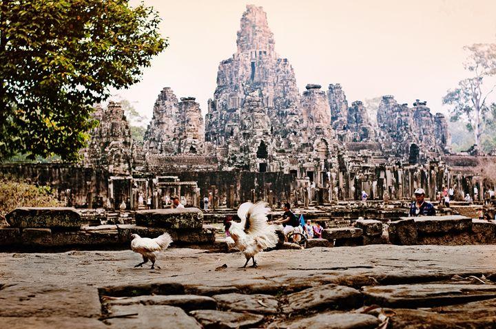 Bayon temple, Cambodia - Anna Alferova Photography