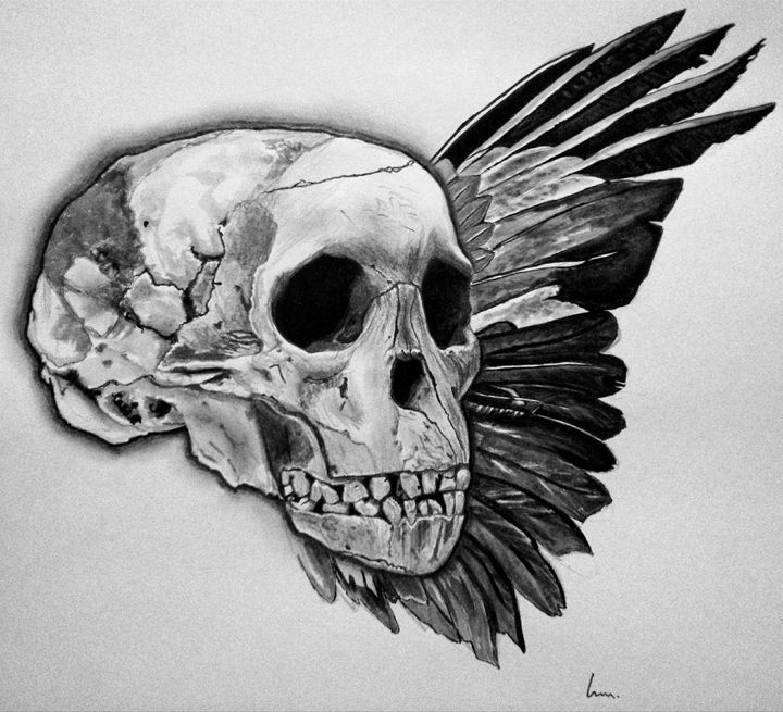 Skull and Wing - Laura Browell