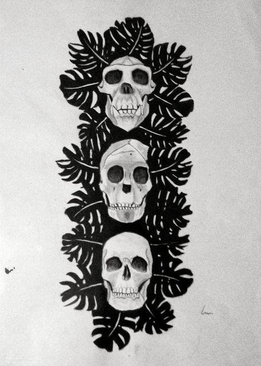 Three Skulls - Laura Browell