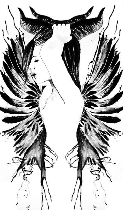Horned Fairy Morph - Laura Browell