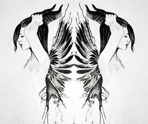 Horned Fairy Reflection