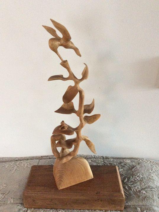 Delicate nature - Scott's carvings