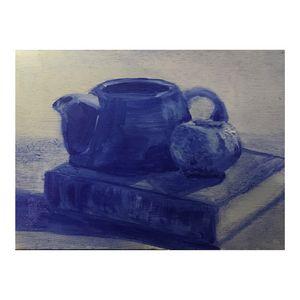 Untitled Blue Still Life no. 2