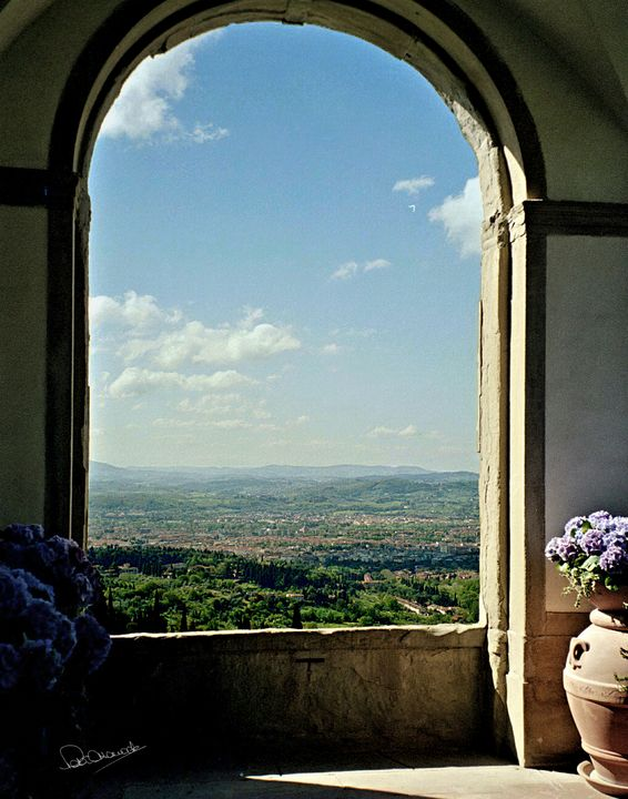 Florentine View of Tuscany - Shadow and Form