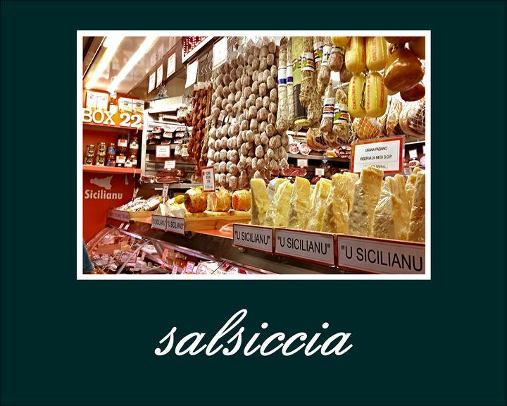 Poster Salsiccia - Peter Horrocks Art