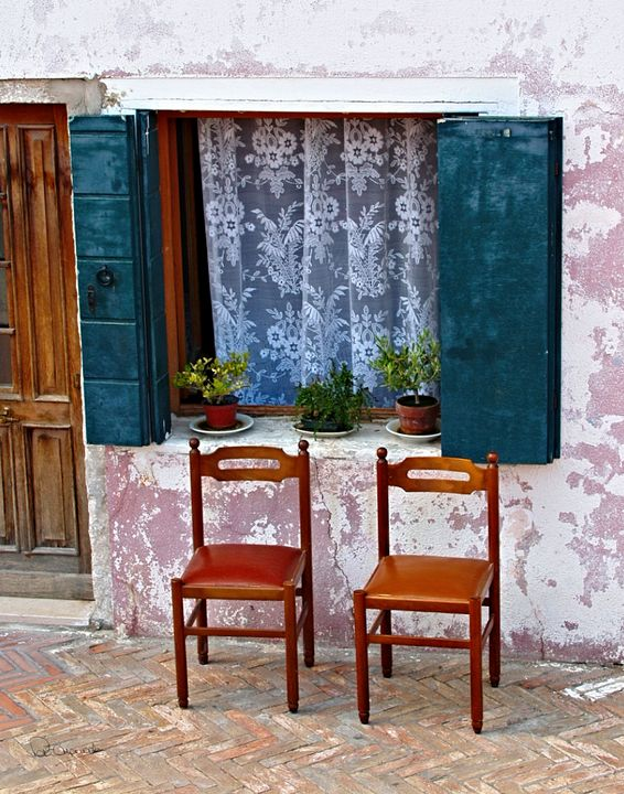Burano Rest - Shadow and Form