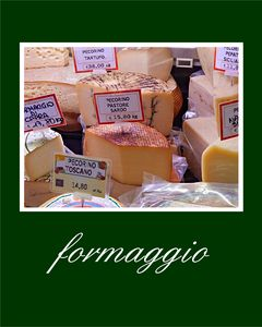 Poster Formaggio - Shadow and Form
