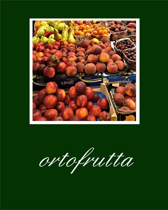Poster Ortofrutta - Shadow and Form