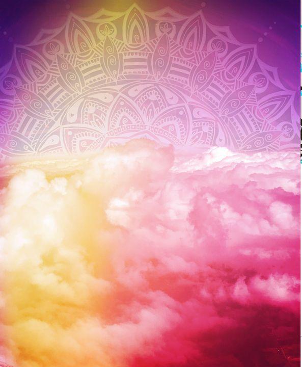 Mandala sky - Nora Mave