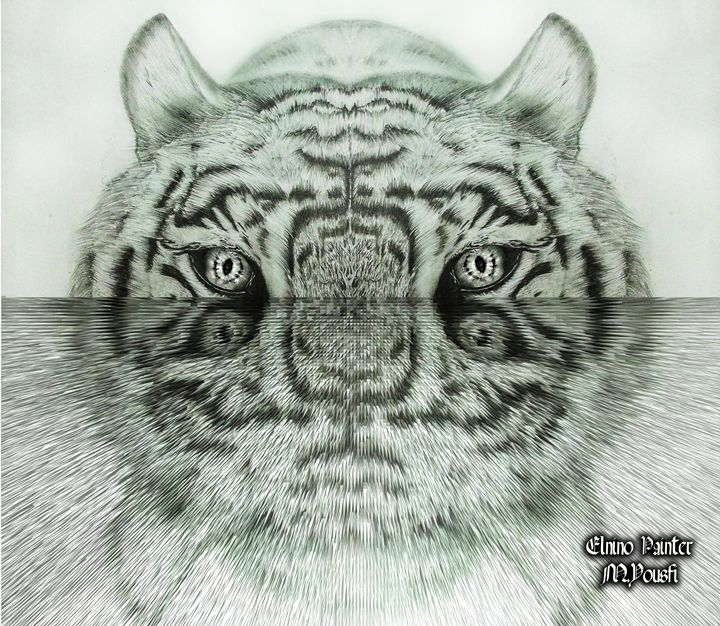 digital water tigre - Elnino Painter