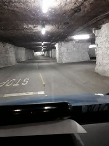 Driving in Caves
