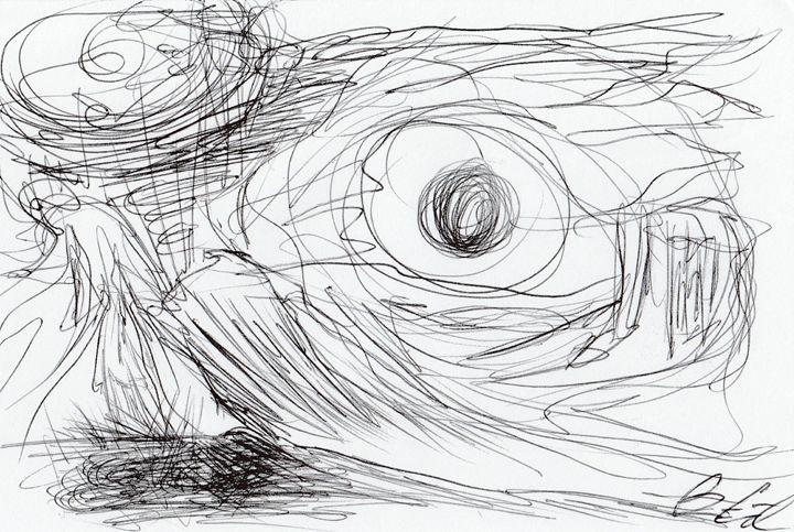 Eye See - Surrealist Art by Brian Cirola