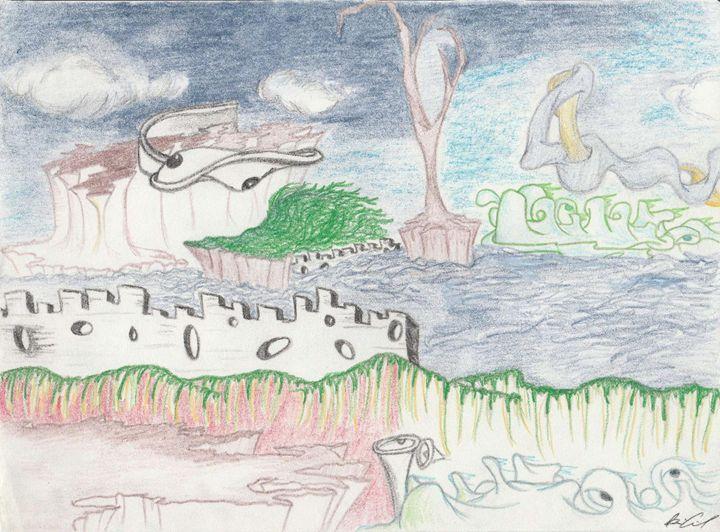 Endings and Beginnings - Surrealist Art by Brian Cirola
