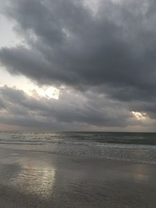 Grey Beach Day