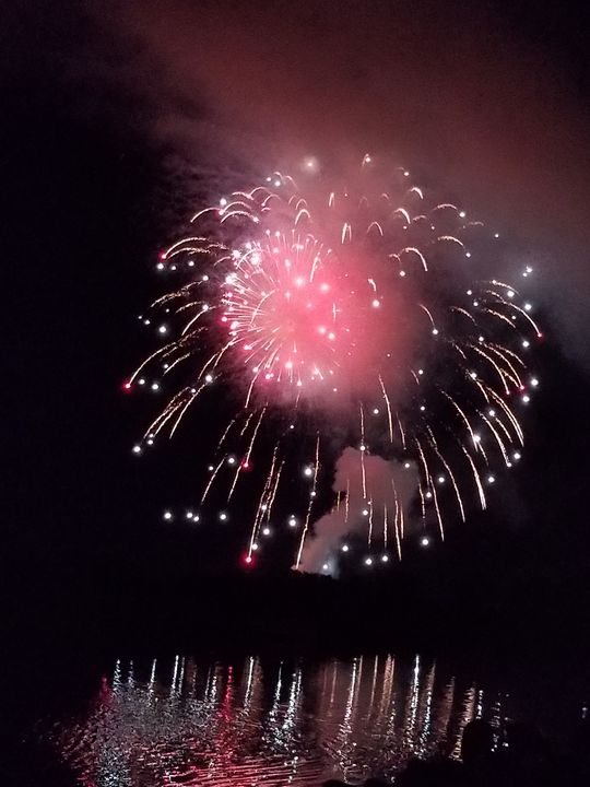 Reflecting fireworks - KASparks