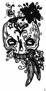 Pretty Skull Head