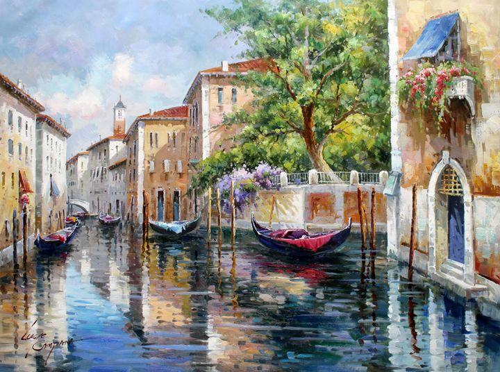 Venice Painting Lucio Campana Paintings Amp Prints