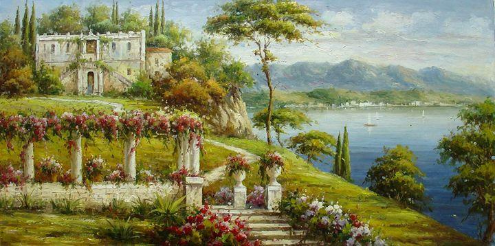 Italian Historical Villas - Lucio Campana