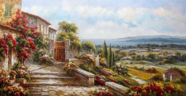 Tuscany Landscape - Lucio Campana