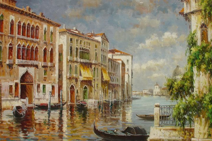 Venice Painting - Lucio Campana