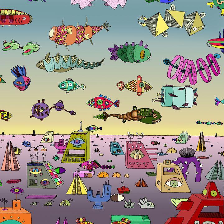 Fish City - Maja Bertole Jeras