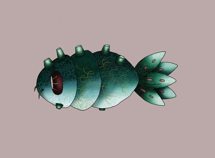 Fish City Creature - Maja Bertole Jeras