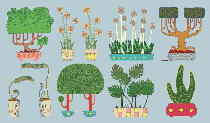 Plants 5 - Maja Bertole Jeras
