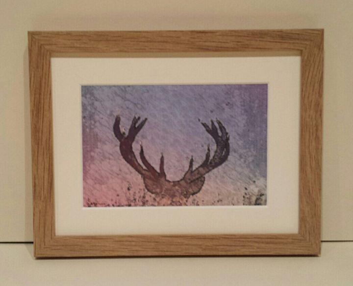 Reindeer Antlers - artbyhew