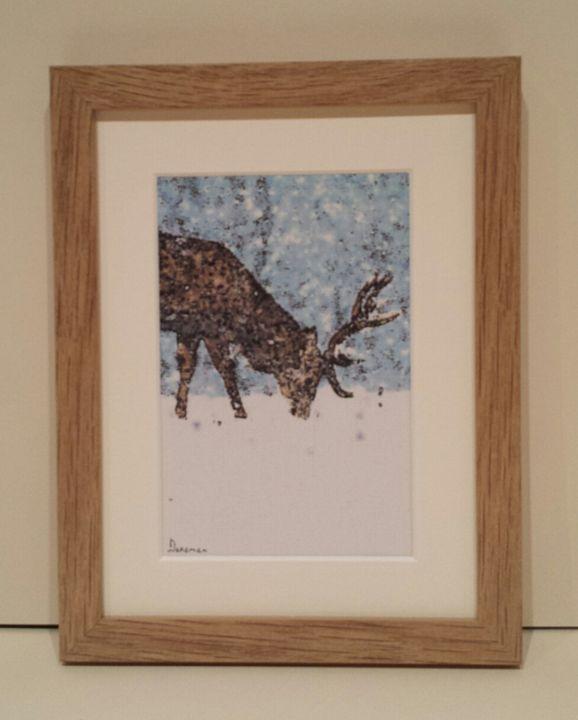 Reindeer Blue - artbyhew