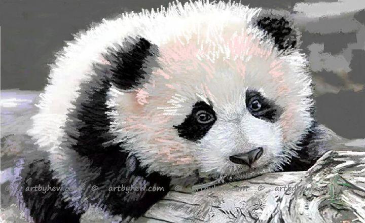 Bamboo Baby - artbyhew