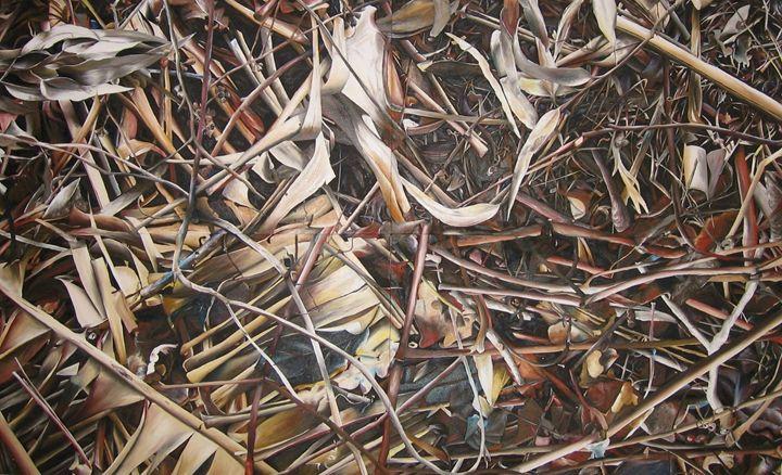 plants 2.38X1.48m - Jacqueline Askew
