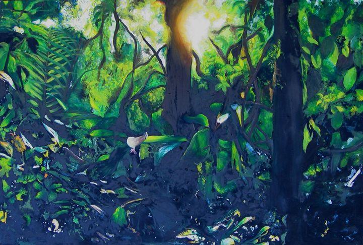 Sunrise in the jungle - Jacqueline Askew