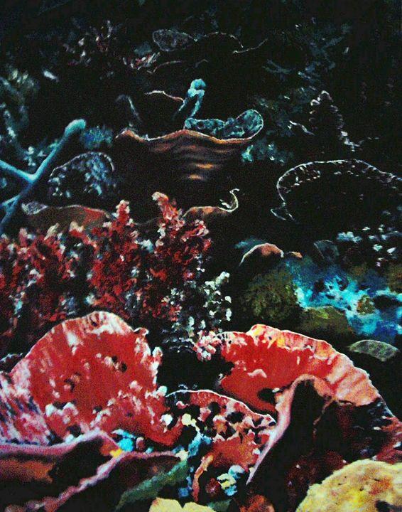 Under the sea - Jacqueline Askew