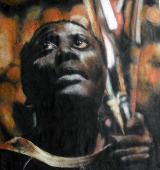 Ethiopian Man - Jacqueline Askew