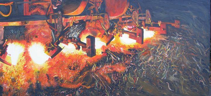 Fire plough - Jacqueline Askew