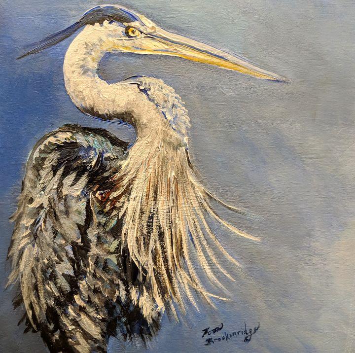 Great Blue Heron - Tom Breckenridge