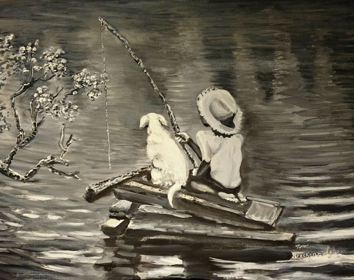 Fishing Buddies - Tom Breckenridge