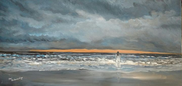 Stormy Beach - Tom Breckenridge
