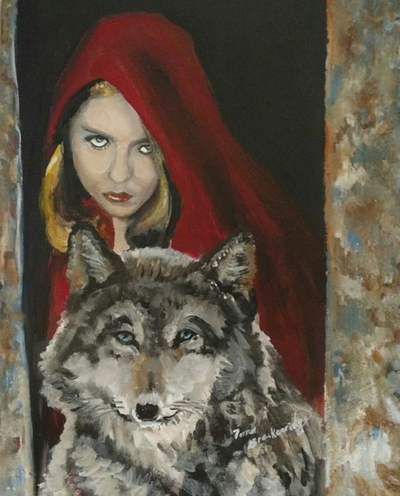 Little Red and the Wolf - Tom Breckenridge