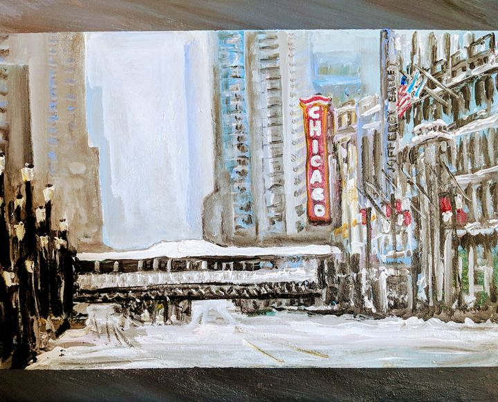 Chicago Winter - Tom Breckenridge