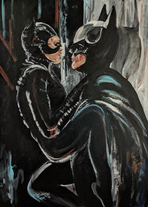 Batman and Catwoman - Tom Breckenridge
