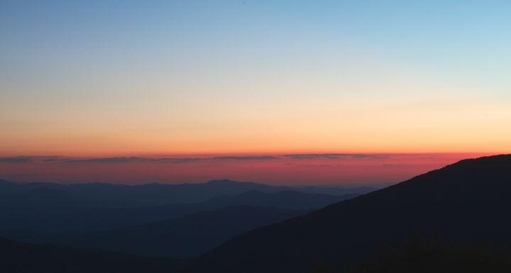 Sunset Atop Elk Knob - Light By Dawn